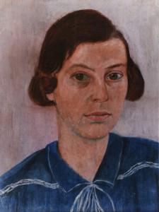 Hedwig Woermann, Mädchenporträt, 1930