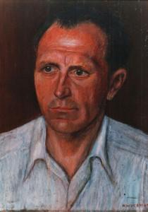 Hedwig Woermann, Arbeiterporträt, 1951